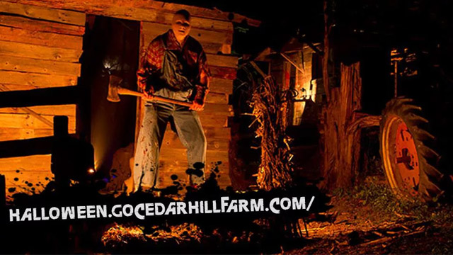 Cedar Hills Farm's Haunted Hayride in Mississippi