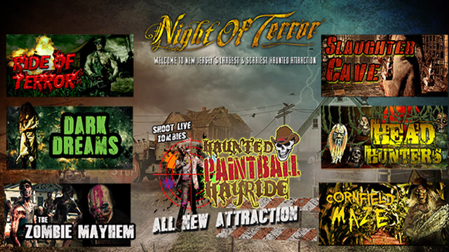 Night of Terror Haunted House in New Jersey