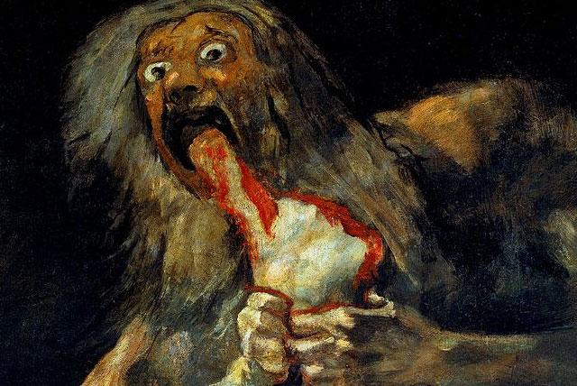 Tarrare painting. Was Tarrare truly a Wendigo?