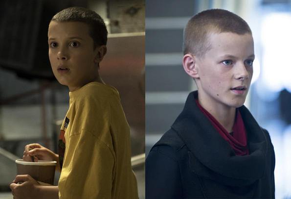 Millie Bobby Brown versus Cory Grüter-Andrew