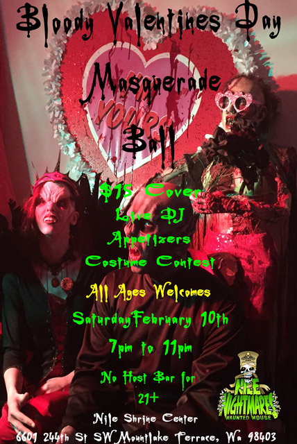 Bloody Valentine Masquerade Ball in Seattle, Wa