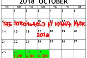 The StrongHold at Nyanza Park Haunted House in Lakewood, Washington Open Dates