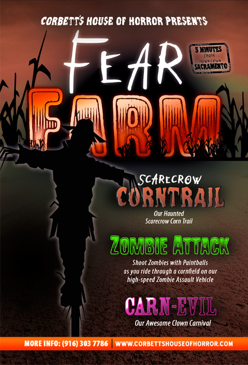 Corbett's House of Horror - Fear Farm in Davis, California