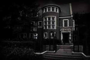 Real Murder House from American Horror Story in LA, California