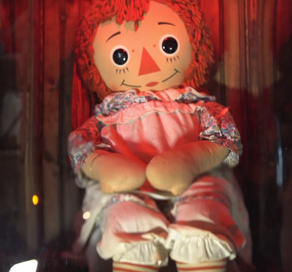 The Real Annabelle Doll from The Conjuring Universe