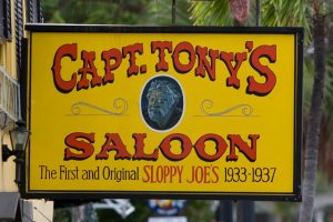 Captain Tony's Haunted Saloon