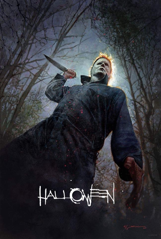 New Halloween (2018) Movie Poster released at Comic Con