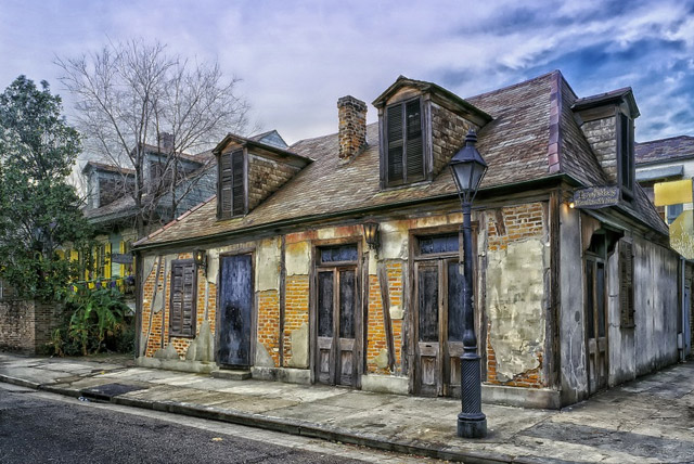 Lafitte's Blacksmith Shop Haunted