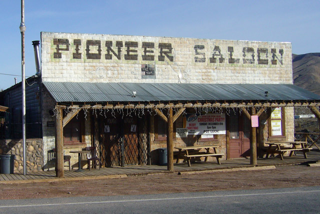 Pioneer Saloon Haunted