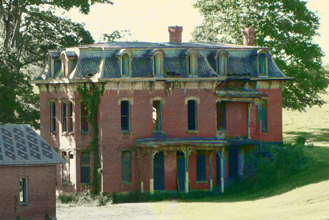 The Haunted Mudhouse Mansion