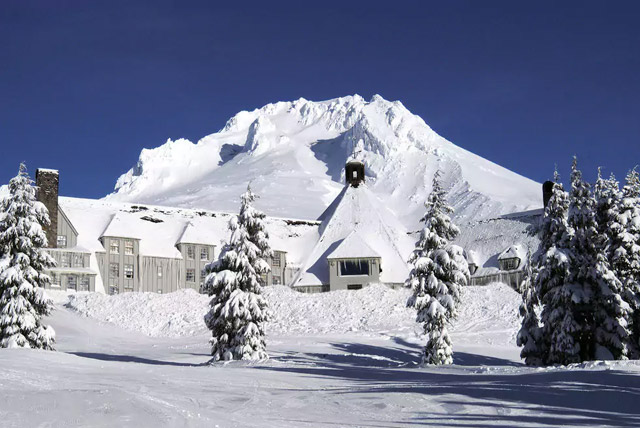 The Haunted Timberline Lodge
