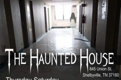 Jaycees Haunted House in Shelbyville, Tennessee