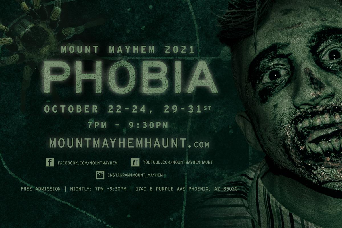 Mount Mayhem - 2021 - Phobia