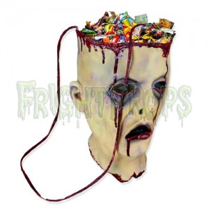 Trick or Treat Severed Head Bag