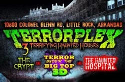 Terrorplex Haunted House in Little Rock, Arkansas