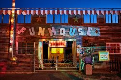 Haunted Funhouse Maze in Banning, California