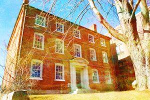 The Haunted Joshua Ward House