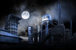 The Haunted Sloss Furnace in Birmingham, Alabama