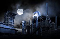 The Haunted Sloss Furnace in Birmingham, Alabama