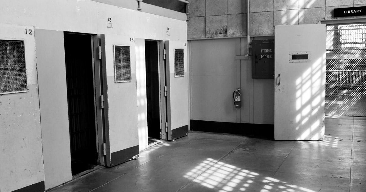 Alcatraz Cell 14 of D Block