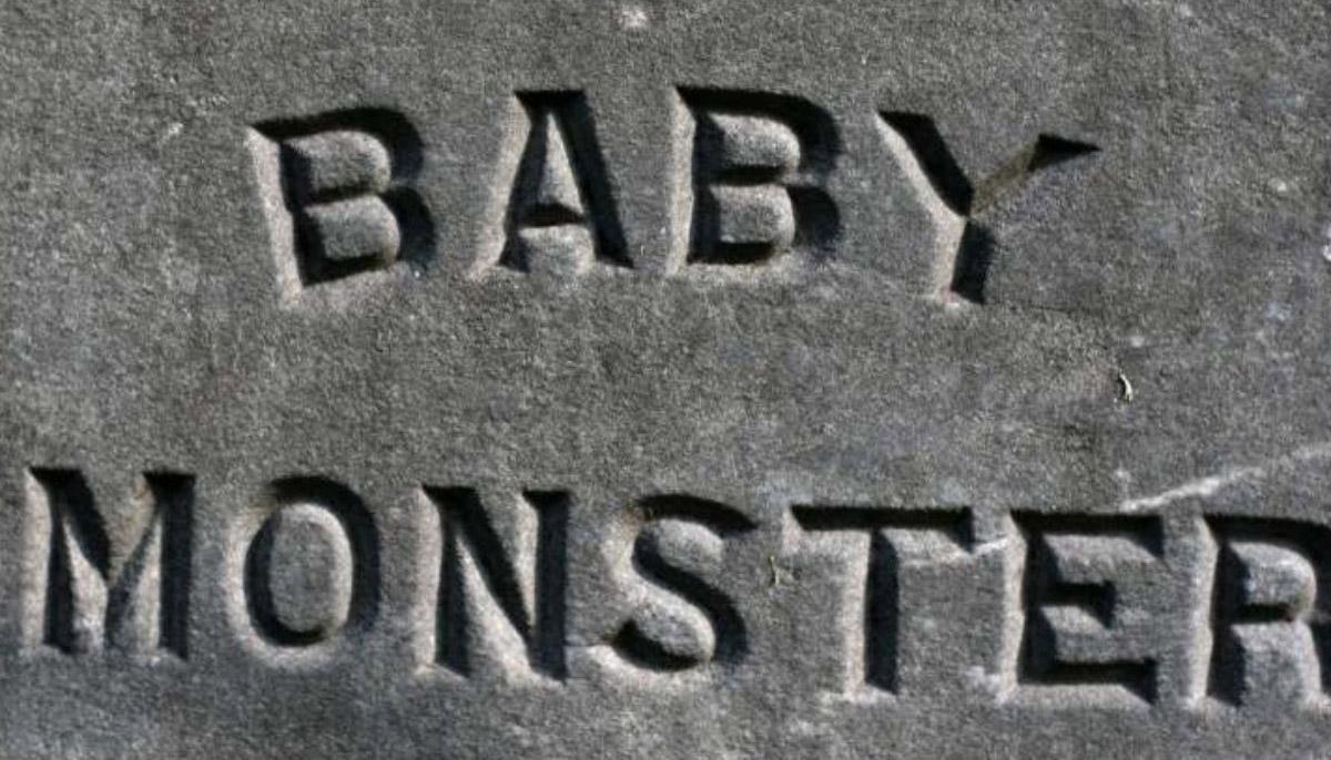 Baby Monster Grave