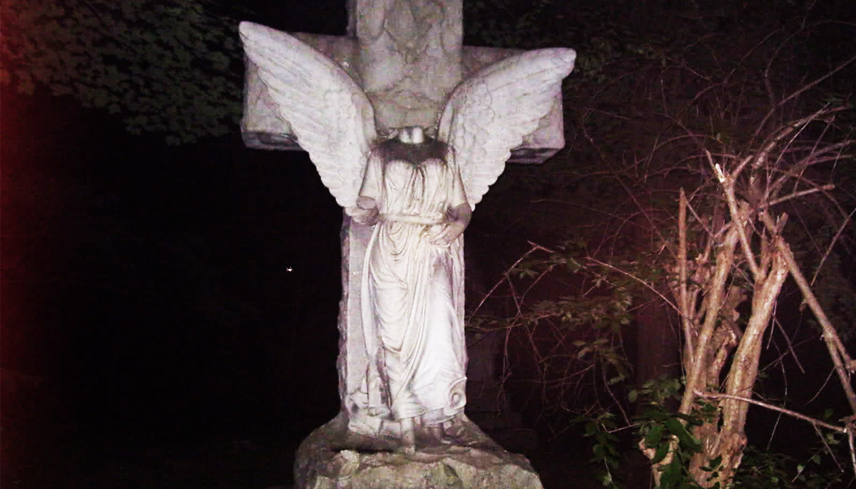 The Haunted Forest Park Cemetery