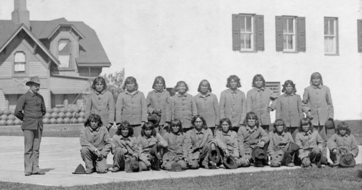 Native American Prisoners at Alcatraz Prison