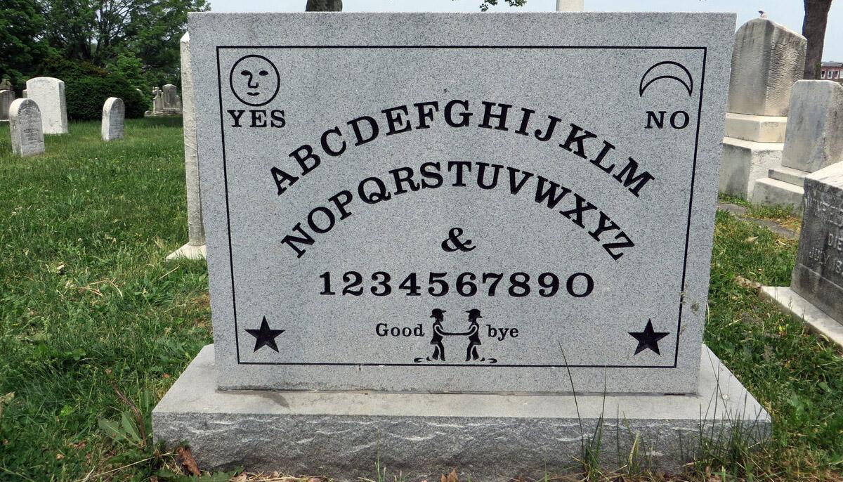 Ouija Tombstone