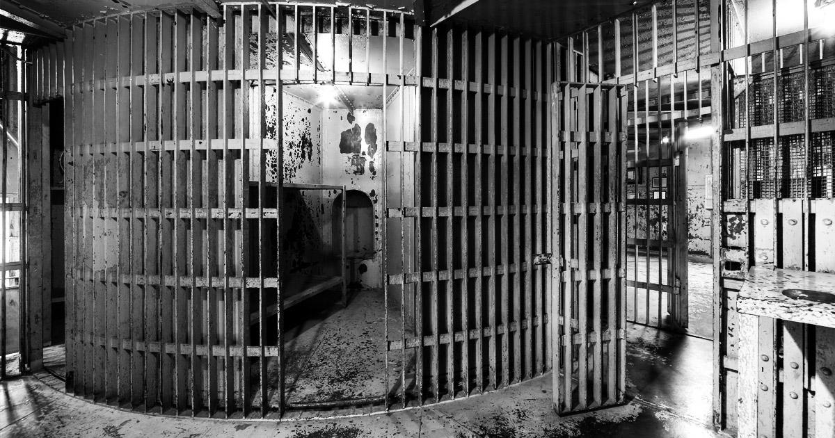 """Squirrel Cage"" at Pottawattamie County Jail"