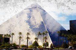 The Haunted Luxor Hotel in Las Vegas