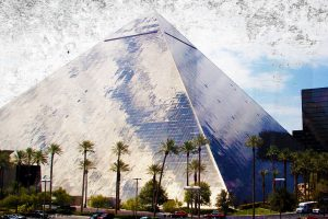 The Haunted Luxor Hotel in Las Vegas