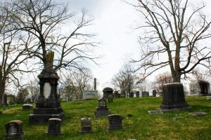 The Haunted Old Gray Cemetery