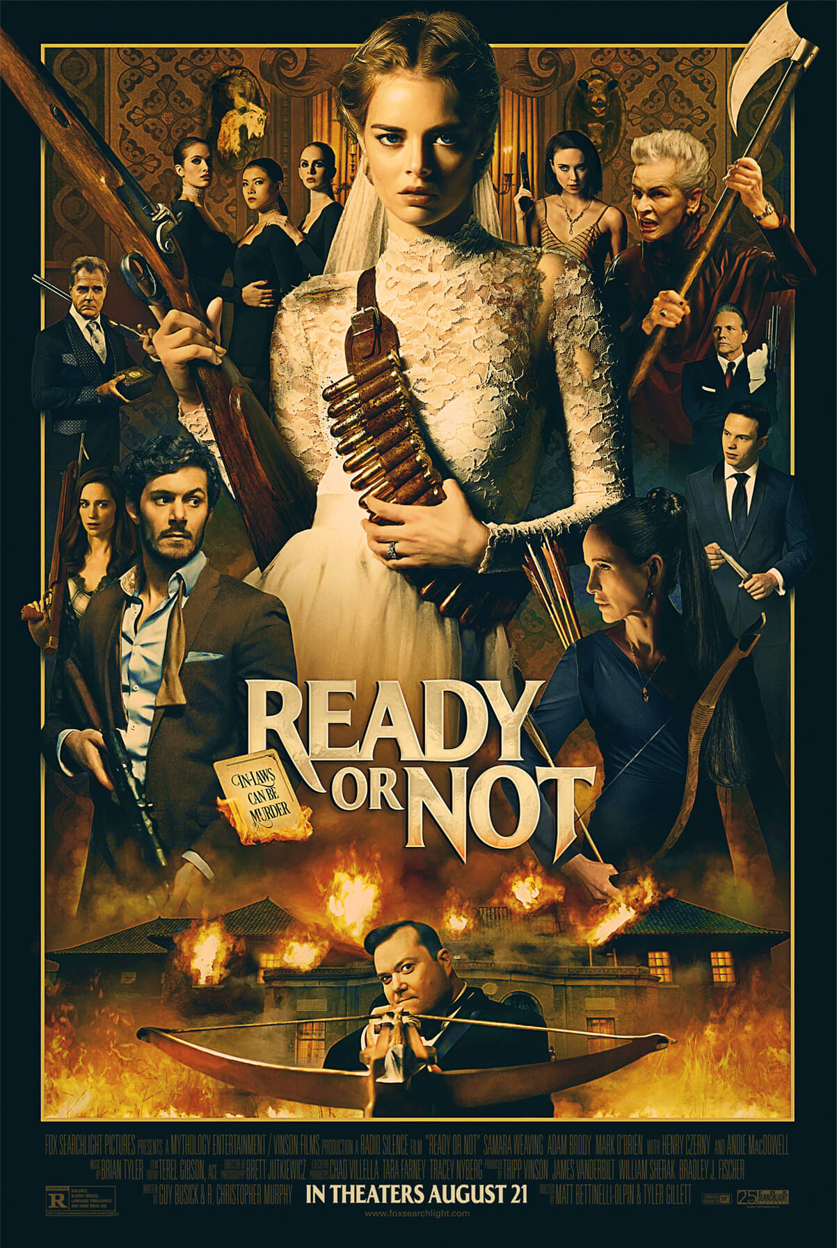 READY OR NOT poster 2019 horror film