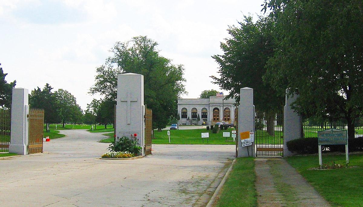 The Haunted Resurrection Cemetery