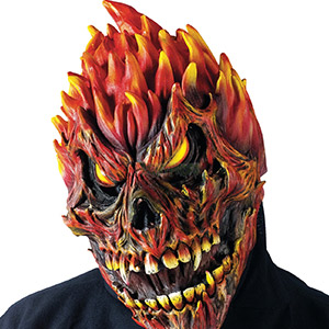 Fright Props - Fearsome Faces Mask Skull