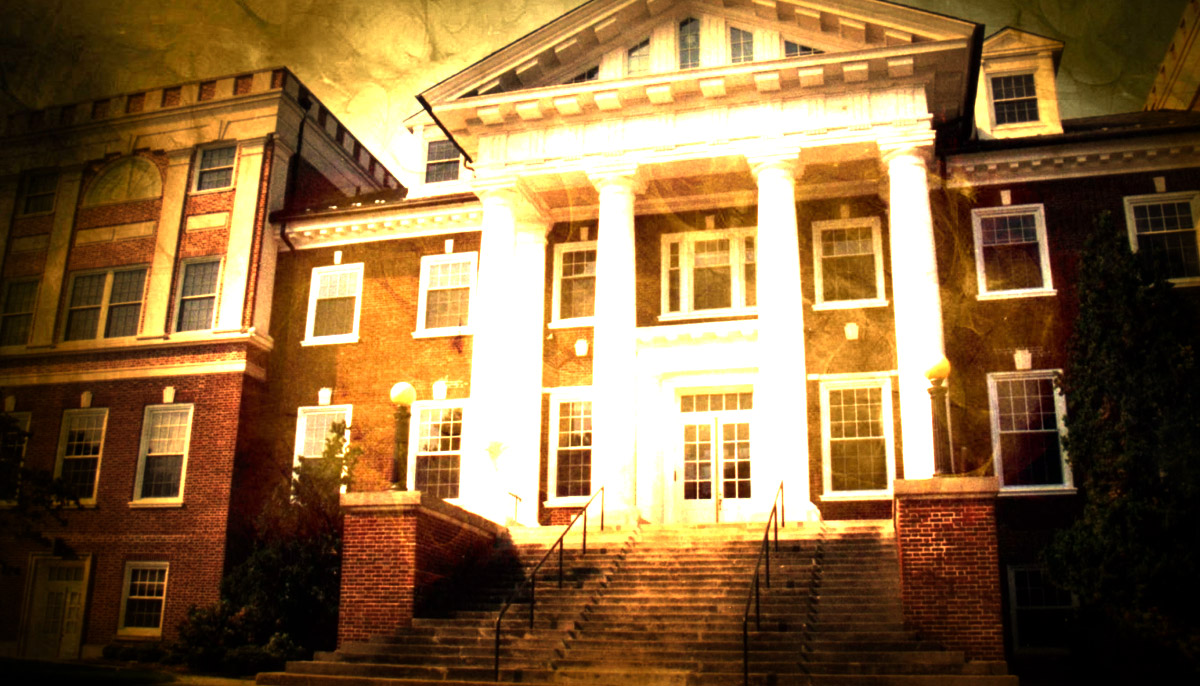 The Haunted Gettysburg College - Huber Hall