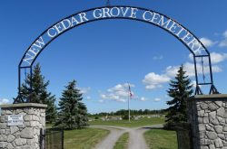 The Haunted Cedar Grove Cemetery