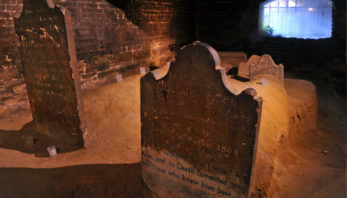 The Westminster Hall Burial Ground