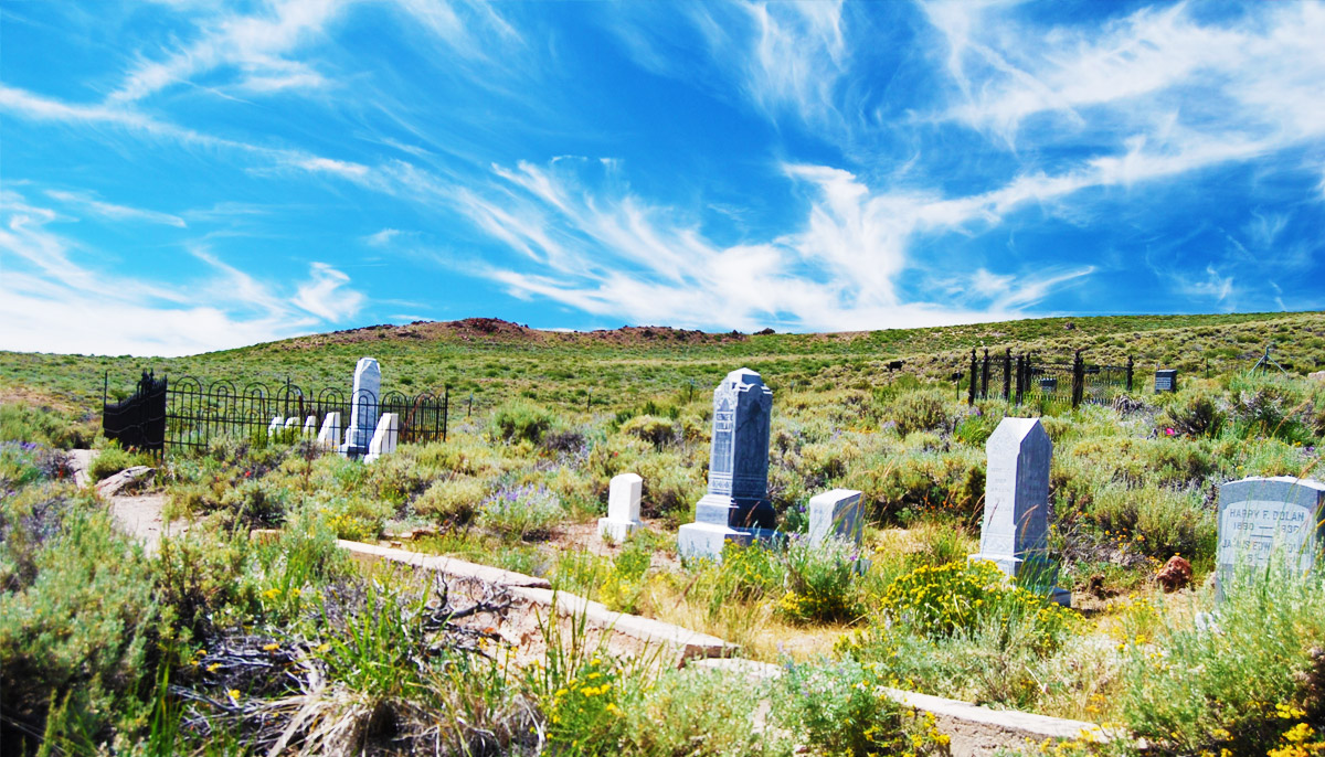 The Haunted Bodie Cemetery