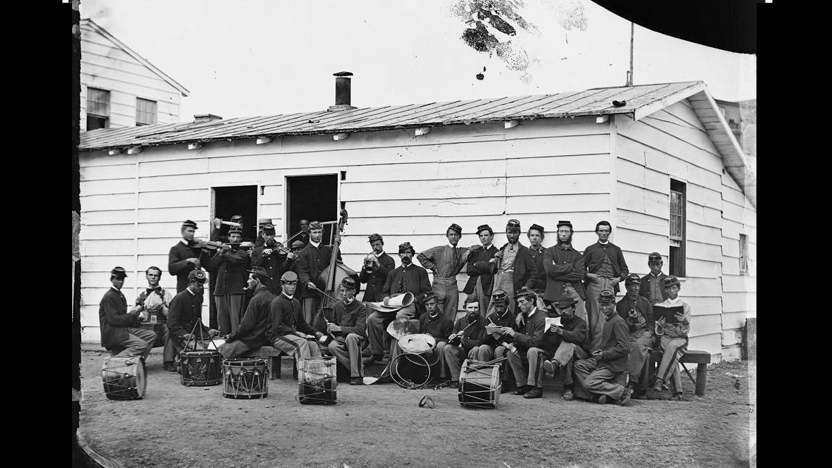 Drum Barracks - Civil War Soldiers