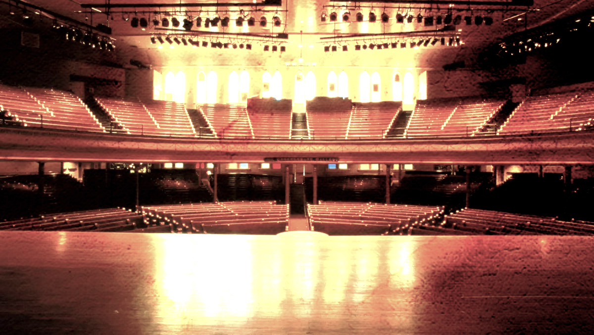 The Haunted Ryman Auditorium