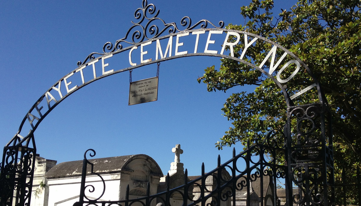 Lafayette Cemetery No. 1, New Orleans