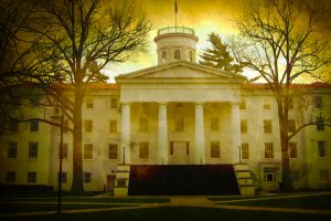 The Haunted Gettysburg College - Penn Hall