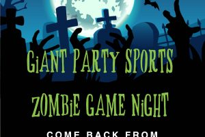 Giant Party Sports - Zombie Game Night